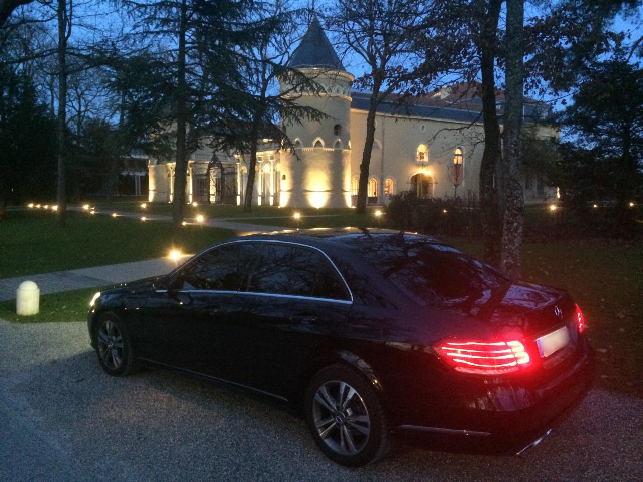 chateau Mercedes classe E