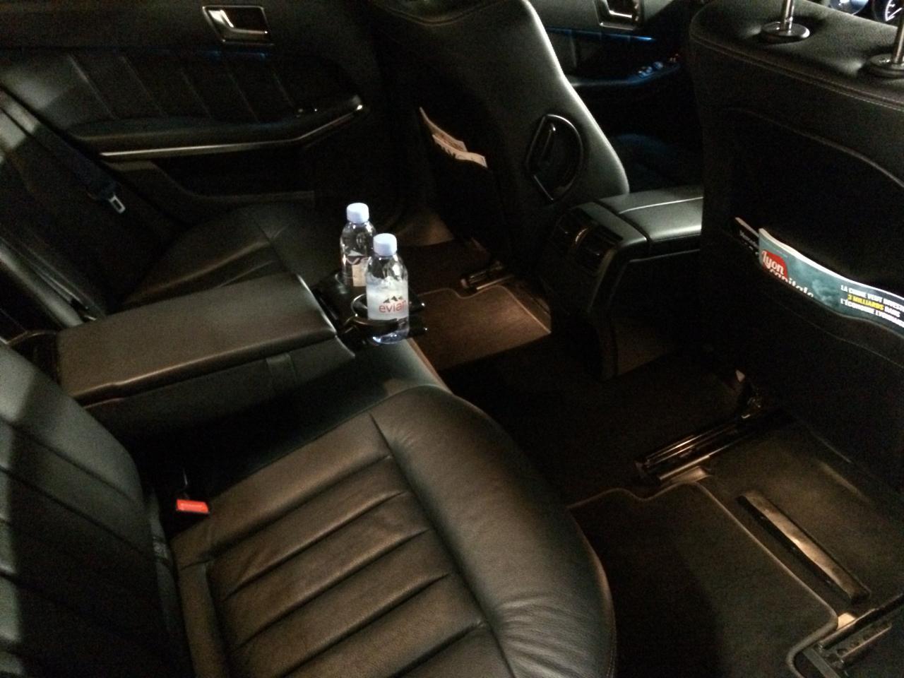 Evian Prestige Mercedes classe E